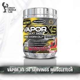 MuscleTech Vapor X5 Next Gen Pre-workout 30 Servings / pre workout p