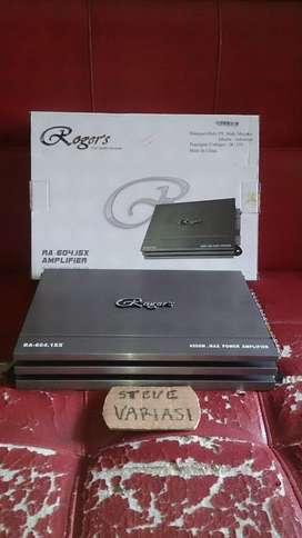 Power Audio 4 Channel Rogers RA-604.ISX Alpine by STEVE VARIASI OLX