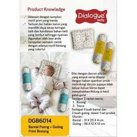 Bantal Guling Set Dialogue Baby Print Bintang