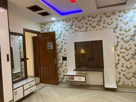 Available double storey corner 1 Kanal house well built