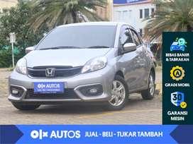 [OLX Autos] Honda Brio Satya 1.2 E M/T 2016 Abu - Abu