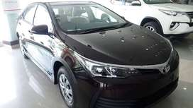 Get Toyota Corolla GLI Automatic Just on 20% Down payment..!