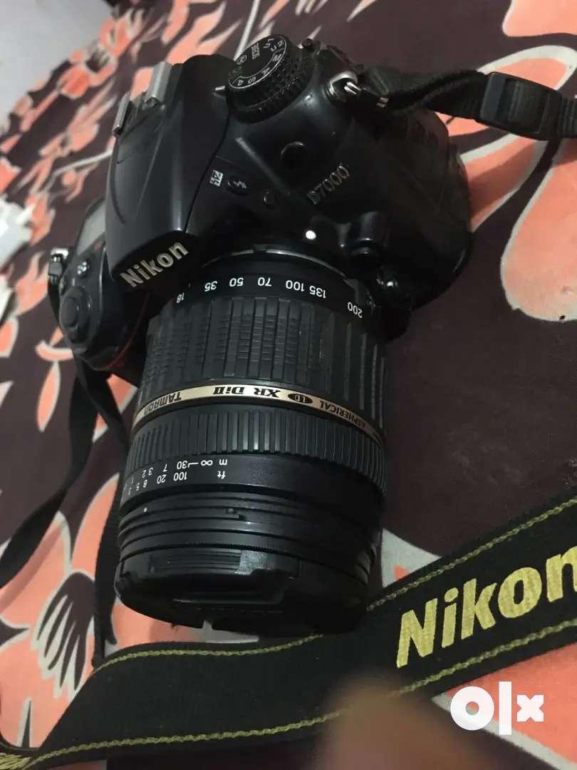 Nikon 7000d good condition no problem in camra