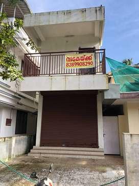At Kizhakkumpattukara Shopping Building for Rent Fully or Separately