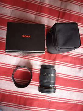 Sigma Lens canon mount 17-50 2.8 Brand new 8 month old