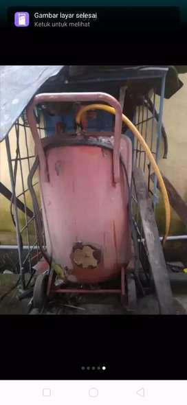 Dijual hidrolik merek Jack rotary, jual cepat butuh uang .