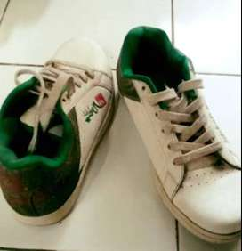 Ongkiirrr FreeeCOD - Quicksilver shoes made in korea white green si