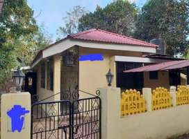 Available 3bhk villa for rent at porvorim