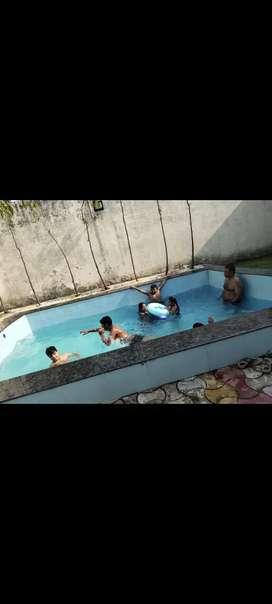 200 gaj farm house & swimming pool