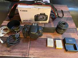 Canon 700D with box and all accessories