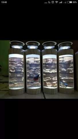 AQUARIUM ANTIK lampu LED