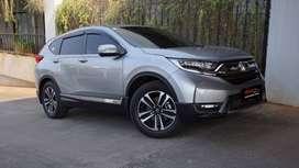 Honda CRV 1.5Turbo Prestige AT 2017 Low KM Service Record Warranty