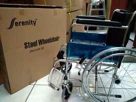 Kursi roda murah  crome
