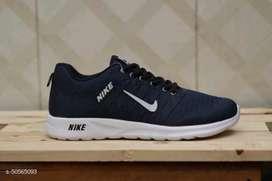 Sepatu Nike Cyber - Hitam Putih-Black BAYAR DI TEMPAT