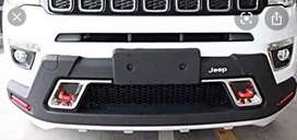 Jeep compass front bumper diffuser