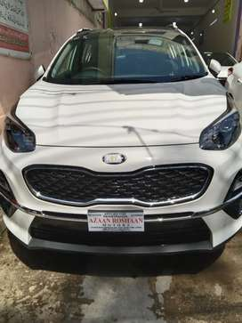 KIA SPORTAGE AWD ZeroMeter 2021Model Bank Leased