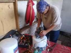 Service pompa air dan Saluran mampet