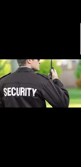 Professional Security Guard Required