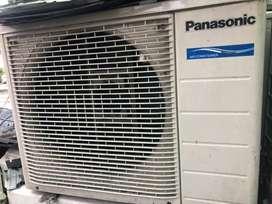 AC Panasonic 1/2 & 1 PK normal jaya dingin istimewa plus psg Grs 6 bln