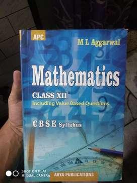 Maths book ( class 12th ) ( M.L aggarwal )