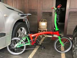 Sepeda lipat 3sixty upgrade