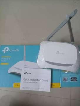 Tp link router (TL-WR840N) and Range Extender
