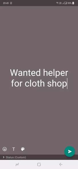 Helper for shop
