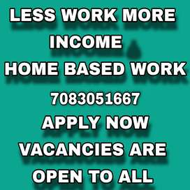 Internet jobs just with handsome income while sitting at home..