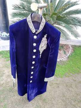 Embroidered Sherwanis in brand new condition for sale