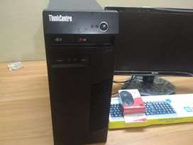 Lenovo core i5 desktop with 6 months warranty