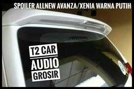 WOW AUDIO & SPOILER ALLNEW/GREAT AVANZA XENIA WARNA PUTIH MUMER GAN