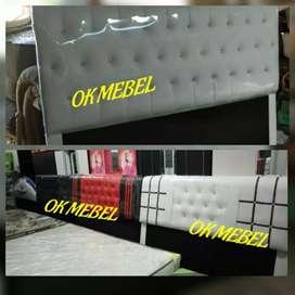 OK MEBEL Divan Sandaran Spring Bed
