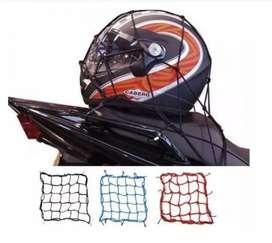 PROMO Jaring Helm Motor Sepeda Tali Pengikat Barang Bagasi Helmet Net