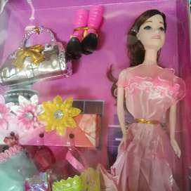 Mainan anak barbie set baru cod gosend bisa