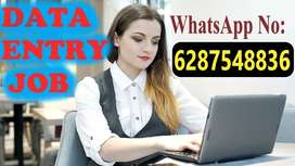 Typing job work from home with weekly payment