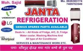 Ac washing machine fridge Repair.