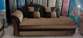 Ready sofa santai kaen bledro coklat