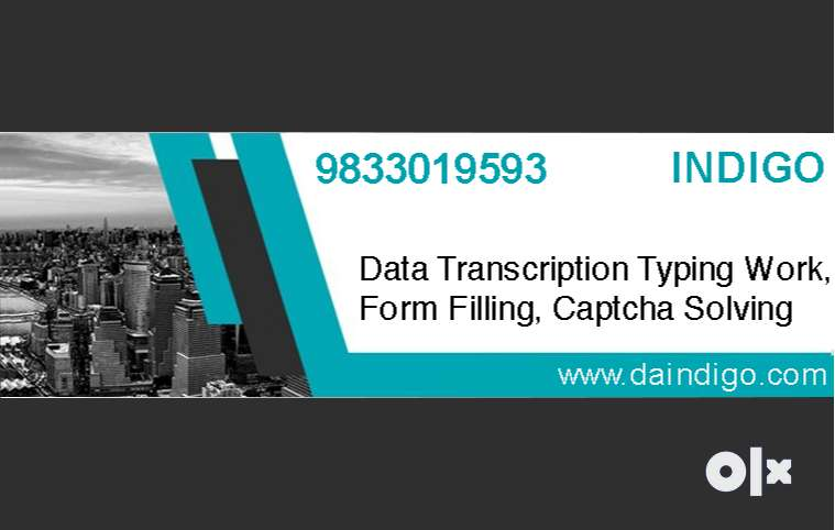 Data Transcription, Data Entry, Form Filling- Limited Seats, Apply Now 0