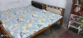 Wooden Bed 2 nos
