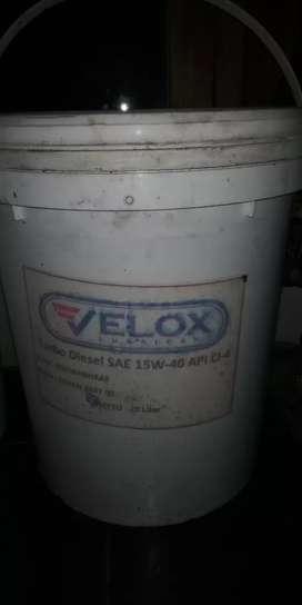 Sisa stok olie 20L harga murah Rp 375.000 nego