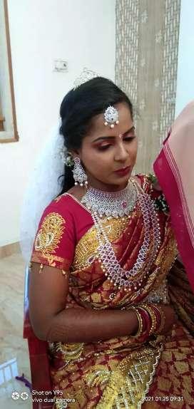 Nandhu's Makeover (Makeup artist)