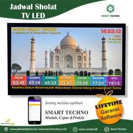 Jual Jam Masjid TV Led Sleman