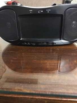 CD Radio Screen