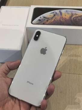 Iphone Xs max 64 GB Silver Mulus Terawat Segel