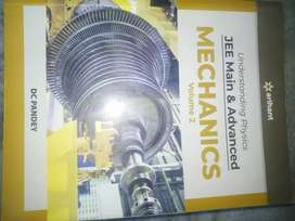 DC pandey jee main and advanced mechanic volume 2