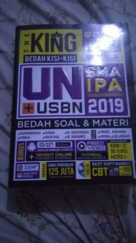 Buku usbn the king 2019