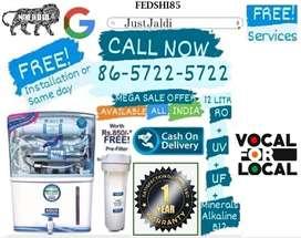 FEDSHI85  RO Water PURIFIER DTH UV Water Tank UF Water Purifier LED me