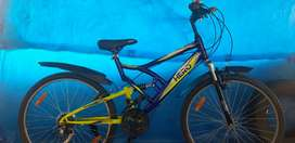 Hero MIG with 18 speed gear new bicycle