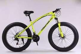 Firetrek fat bike 26T 21 Speed Gears Combination free accesaries