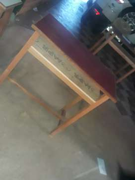 Study table with sitting stool for chidren